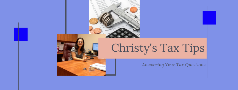 Christy's Tax Tips